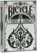 """Карты игральные Bicycle """"Arch Angel"""", цвет: белый, 54 карты. 9106"""