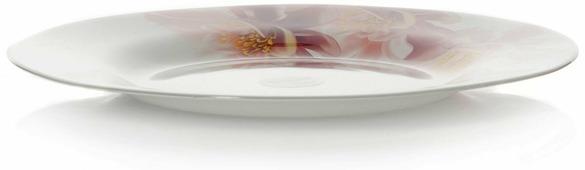 "Тарелка Pasabahce ""Уотер лили"", цвет: белый, диаметр 26 см"