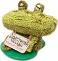 """Копилка Бюро находок """"Лягушка мелочница"""", AKA06, зеленый"""