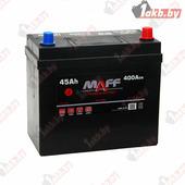 Аккумулятор для легковых автомобилей MAFF Premium Japan (45 A/h), 400А R+