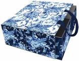 """Коробка подарочная Magic Home """"Голубые цветы"""". 77312"""