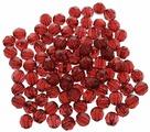"""Бусины """"Астра"""", цвет: гранатовый (9), диаметр 8 мм, 25 г. 684976"""