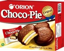 Orion ChocoPie пирожное, 360 г