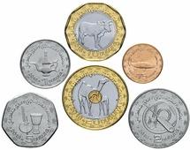Мавритания набор монет 2017-2018 (6 шт.) V160803