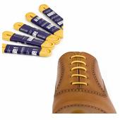 Вощеные шнурки Saphir (круглые, тонкие) (Цвет-53 Желтый Размер-90 см)