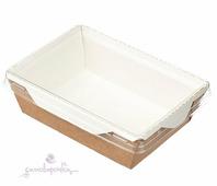Коробка с прозрачной крышкой 165*120*45мм