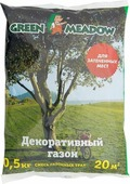 Семена Green Meadow Декоративный газон для затененных мест, 500 г