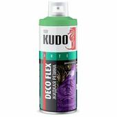 """Жидкая резина KUDO """"DECO FLEX"""", аэрозоль, 520 мл, хаки"""