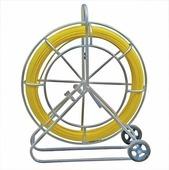 Протяжка-стеклопруток со сменными наконечниками FGP-11/100MK, желтая (100 м, катушка) {69458}