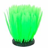 Декорация GLOXY для аквариума 10*7,5*11см Морская лилия Зеленая Флуоресцентная