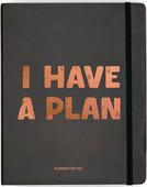Планер I HAVE A PLAN чёрный