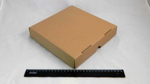 Коробка под пиццу 250*250*40 бурая.9015/1520-1