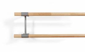 Кронштейн для двухуровневого хореографического станка в стену - модель №5, цвет: серый