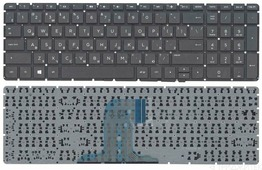 Клавиатура для ноутбука HP Pavilion 250 G4, 255 G4, 15-af000, pk131em2a08, черная без рамки