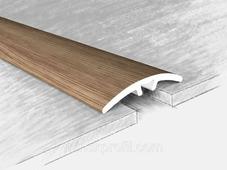 Порог алюм. 70717Н, дуб глина, 135 см