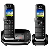 Радиотелефон Panasonic KX-TGJ322RU Black