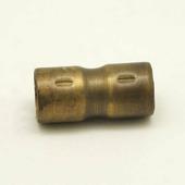 Муфта соединительная для труб D16 мм., латунь, H03BR1 Hanysen