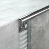 Полукруглый угол для плитки 8мм из нержавеющей стали 270 см