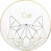 Декоративная тарелка Magic Home Кошка, белый