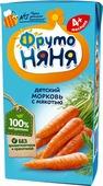 ФрутоНяня нектар морковный с мякотью с 4 месяцев, 0,2 л