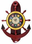 Часы настенные «Якорь» 40 см х 61 см, деревянные 40.132.12.0 Weekend