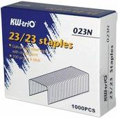 Скобы для степлера KW-trio 23/23, 1000 шт., в картонной коробке, до 200 листов