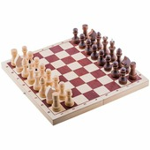 Игра настольная Шахматы Орловские шахматы, обиходные парафинированные с доской