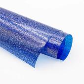 Пленка цветная в крапинку, цвет синий, размер 15x20см