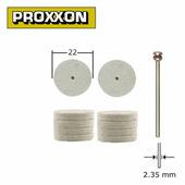 Полировальные насадки из войлока (2 шт) Proxxon (28798)