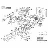 1608005004 Нижний каркас для (P)GBS 75 Bosch (1608005004)