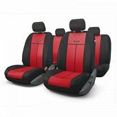 """Авточехлы Autoprofi """"TT"""", цвет: черный, красный, 9 предметов. TT-902M BK/RD"""