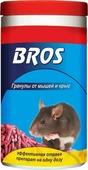 """Гранулы от крыс и мышей """"BROS"""", банка с дозатором, 250 г"""