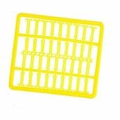 Стопора AXIS для бойлов с длинным фиксатором, желтые, в рамке