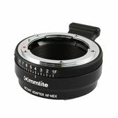 Адаптер CM-NF-NEX для объективов Nikon F/G на байонет Sony E-mount
