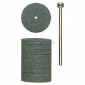 Круг шлифовальный (10 шт) 22мм + держатель хвостовик 2,35мм Proxxon (prx-28304)