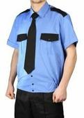 """Рубашка мужская """"Охрана"""" кор. рукав на резинке"""