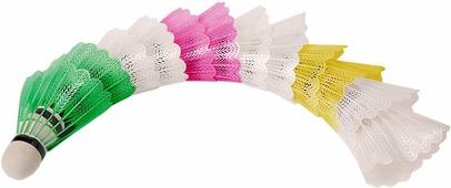 """Набор воланов для бадминтона """"Magic Home"""", цвет: разноцветный, 12 шт"""