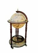 Напольный глобус бар JUFENG, d=33 см CG33001N