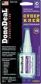 "Суперклей индустриальный ""Done Deal"", 30 г. DD 6643"