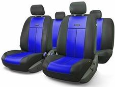 """Авточехлы Autoprofi """"TT"""", цвет: черный, синий, 9 предметов. TT-902P BK/BL"""