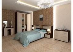 Спальня Квадро-Люкс (венге, белфорт)