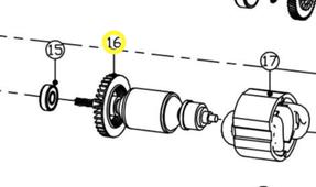 ротор DS1310 WORTEX 7142-16