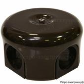 Ретро коробка Lindas, цвет коричневый , 78 мм
