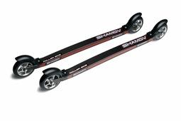 Shamov 04-3R лыжероллеры коньковые карбон колёса каучук 100x24 мм
