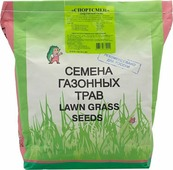 Семена Зеленый ковер Спортивный газон Спортсмен, 2 кг