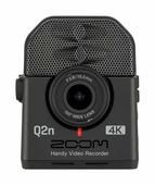 Zoom Q2n-4K Универсальная 4K камера со стереомикрофонами для композиторов и музыкантов, чёрная