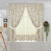 Комплект штор ТД Текстиль Tea Party 2, 27028, кремовый