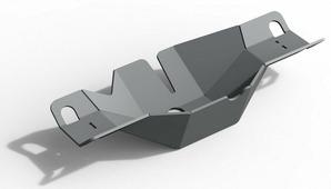 Защита дифференциала заднего моста Rival для Volkswagen Amarok I рестайлинг 2016-н.в., алюминий 6 мм, с крепежом. 333.5867.1.6
