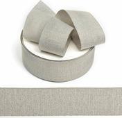 Тесьма киперная металлизированная Ideal, TBYT25, серый, 40 мм х 22,85 м