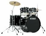 TAMA SG52KH4C-BK STAGESTAR ударная установка из 5-ти барабанов (цвет - черный) со стойками, педалью и комплектом тарелок